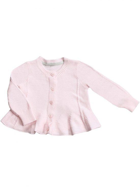Seed Cardigan Pale Pink Main