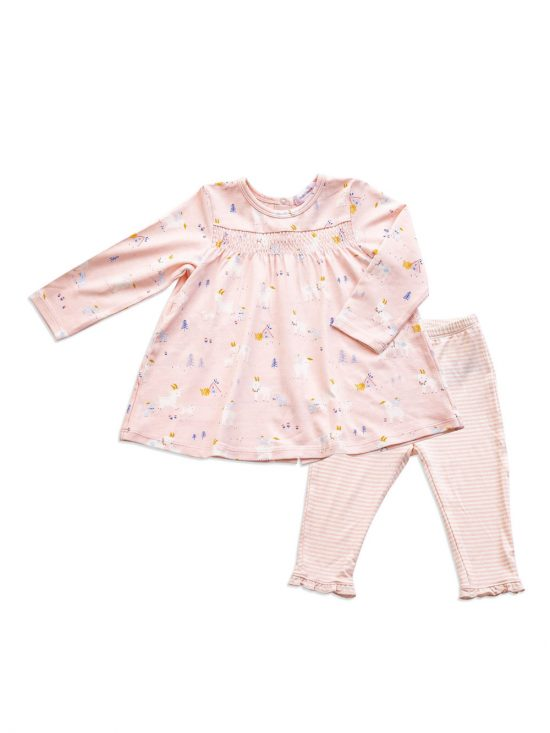 Dress and Legging Goats Cute baby Clothes