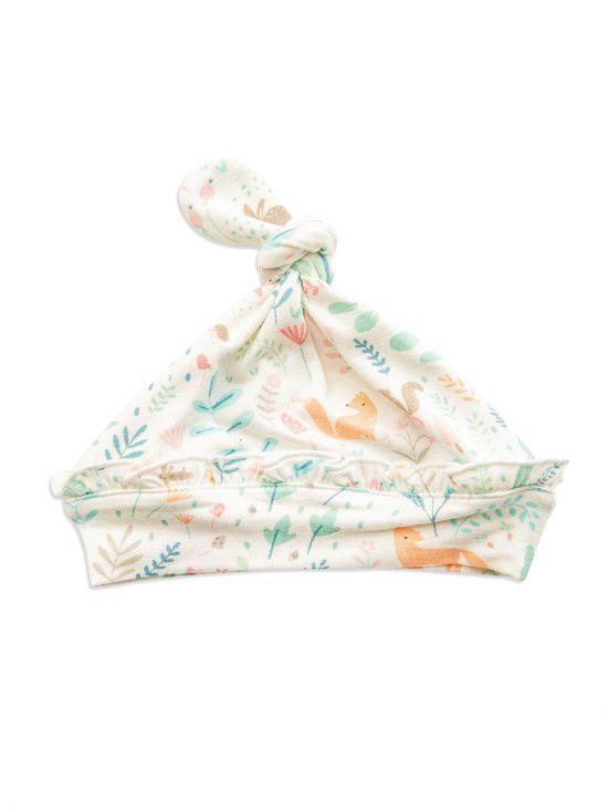 Woodland Floral Beanie Hat - Angel Dear