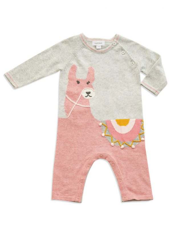 Llama Knits Alpaca Coverall - Angel Dear
