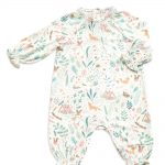 Smocked Romper - Woodland Floral - Same Baby Clothing Collection